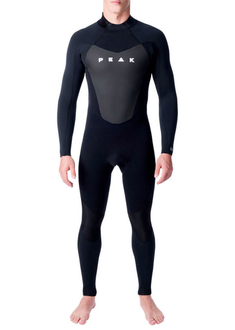 Peak Mens Energy 3/2mm GB Back Zip Steamer Wetsuit
