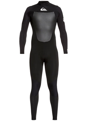 Quiksilver Mens Syncro 3/2mm GBS Back Zip Steamer Wetsuit