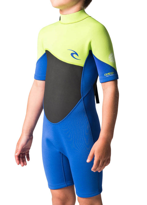 Rip Curl boys Omega 1.5mm Spring Suit Wetsuit WSP7FB-4078-8