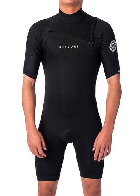 Rip Curl Mens Dawn Patrol 2mm Chest Zip Spring Suit Wetsuit