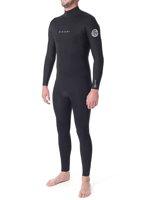 Rip Curl Mens Wetsuit Dawn Patrol 4mm 3mm GBS Back Zip Steamer WSM9EM-00090