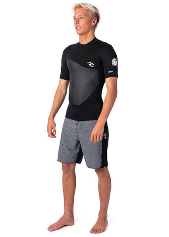 Rip Curl Mens Omega 1.5mm Short Sleeve Neoprene Top