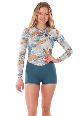 Rip Curl Womens G-Bomb Long Sleeve 1mm Spring Suit Wetsuit