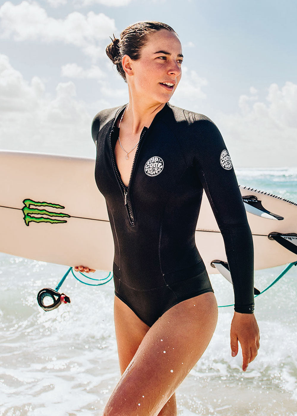 Rip Curl Womens G Bomb 1mm Long Sleeve Spring Suit – Wetsuit Warehouse 03c37a01d
