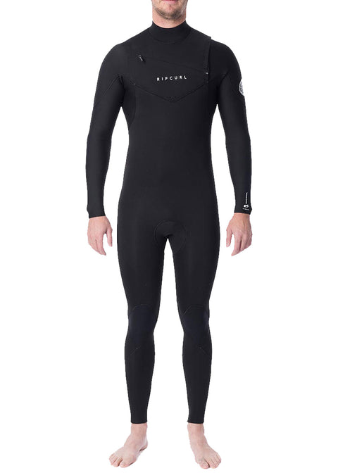Rip Curl Mens Dawn Patrol 3/2mm GB Chest Zip Steamer Wetsuit