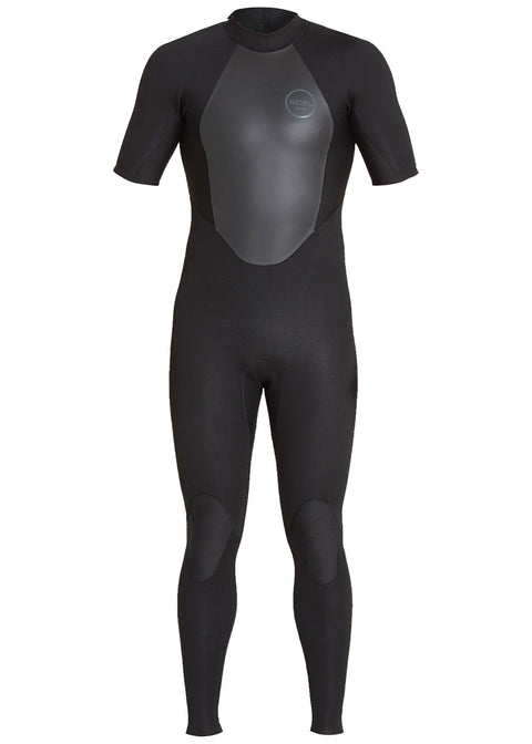 Xcel Mens Axis 2mm Short Sleeve Steamer Wetsuit