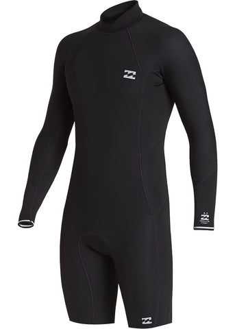 Billabong Mens Absolute 2mm Back Zip Long Sleeve Spring Suit