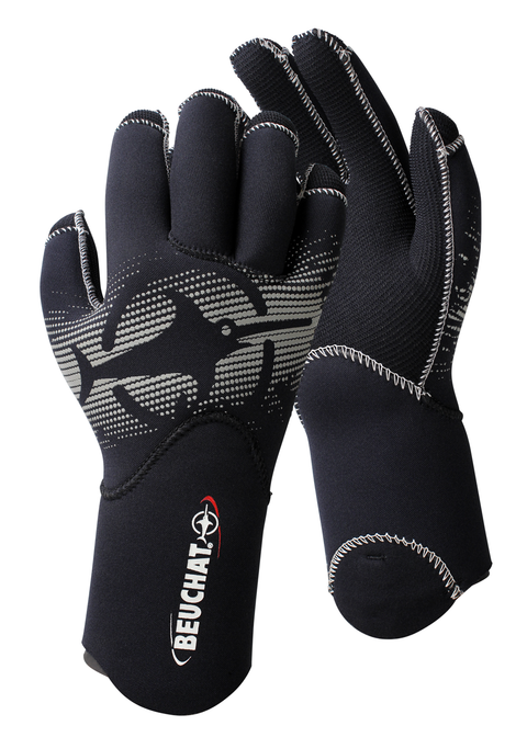 Beuchat Semi-Dry 4.5mm Dive Gloves