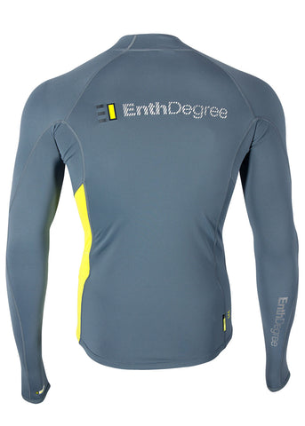 Enth Degree Mens Bombora Long Sleeve Polyfleece Rash Guard