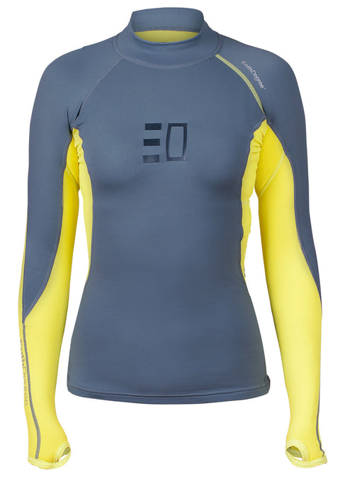 Enth Degree Womens Bombora Long Sleeve Polyfleece Rash Guard