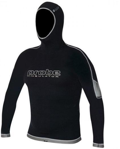 Probe 'Insulator' Long Sleeve Hooded Vest - Mens