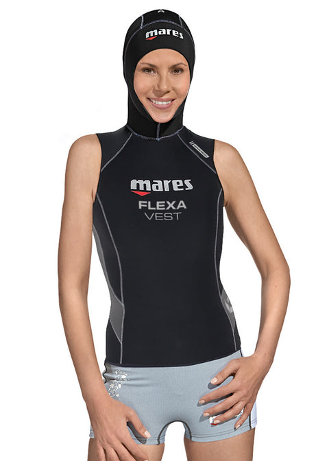 Mares Womens Flexa She Dives 5/3mm Hooded Wetsuit Vest