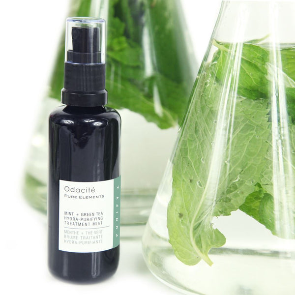 Odacité Mint + Green Tea Hydra-Purifying Treatment Mist - megan-graham-beauty