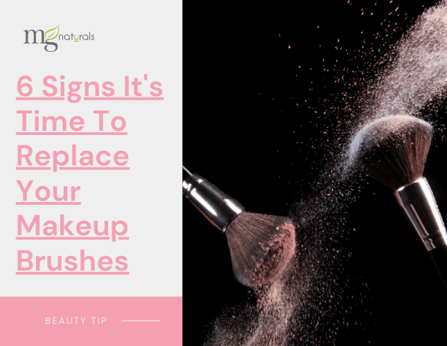 6 Signs It's Time To Replace Your Makeup Brushes