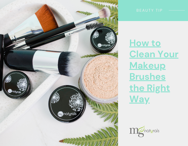 Non toxic makeup brush washing routine