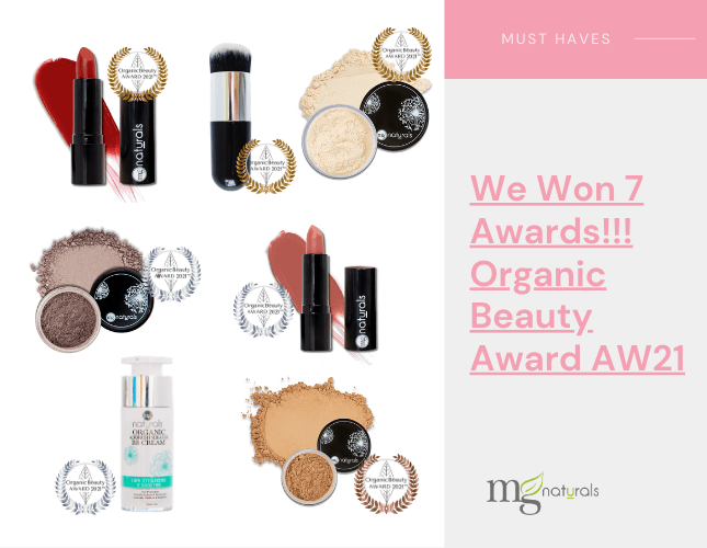 We Won 7 Awards!!! Organic Beauty Award AW21