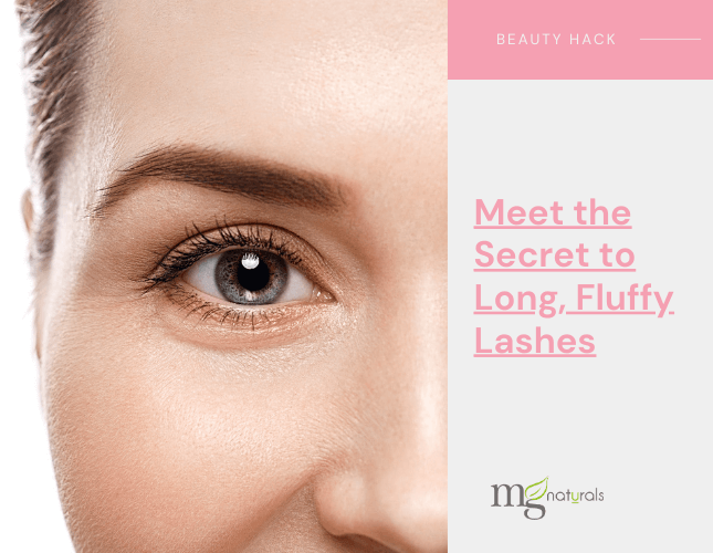 Meet the Secret to Long, Fluffy Lashes.