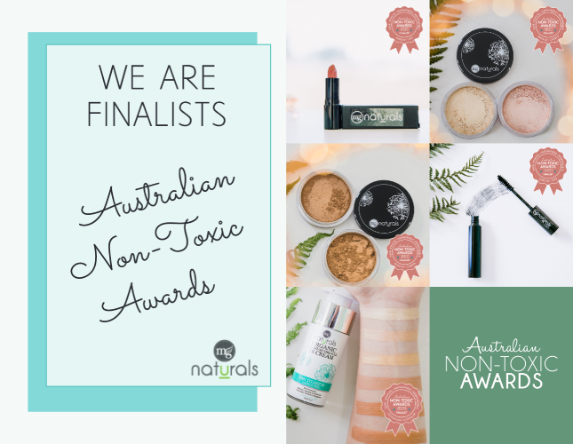 Australian Non-Toxic Awards 2020 - We are Finalists