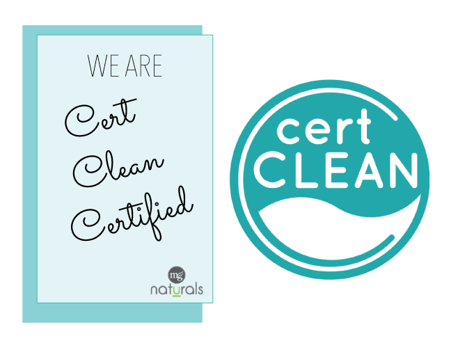 We are now Certclean certified......