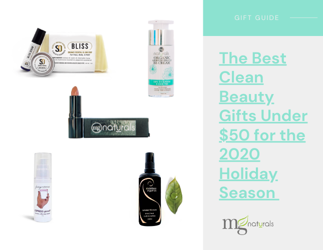 The Best Clean Beauty Gifts Under $50 for the 2020 Holiday Season