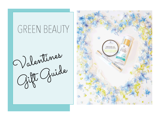 Valentine's Day Green Beauty Gift Guide 2020