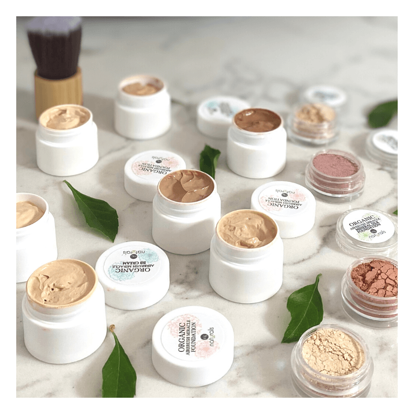 Non toxic makeup samples
