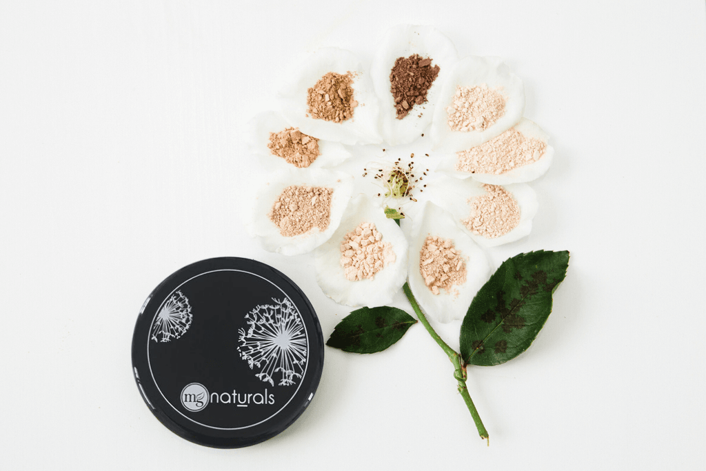 Titanium Dioxide Free Mineral Silk Foundation for creating a light and glowing base