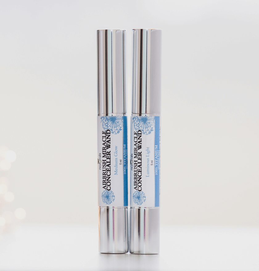 Titanium dioxide free, organic, cruelty free, vegan, nontoxic, clean beauty concealer wand.