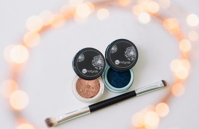 Matte Vegan Eye Shadow Duo - Taupe & Duchess - MG Naturals