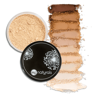 Mineral Foundation Powder | Titanium Dioxide Free Mineral Foundation | MG Naturals