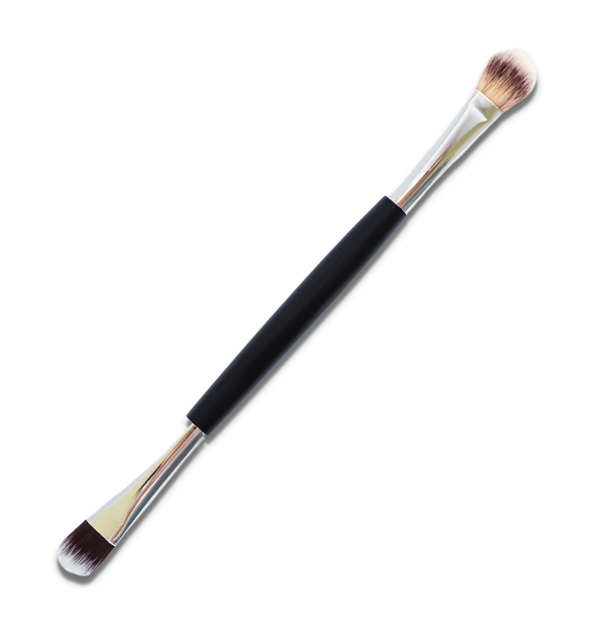 Double-Ended Vegan Eyeshadow Brush | MG Naturals