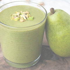 Matcha Pear Green Smoothie