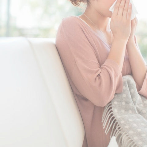 how to care for your skin when you're sick