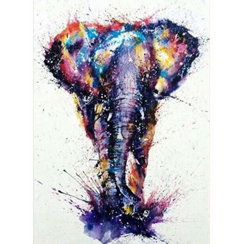 Big Elephant Painting