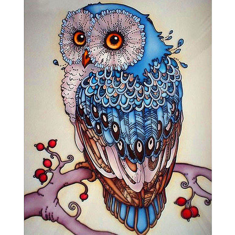 Blue Diamond Owl