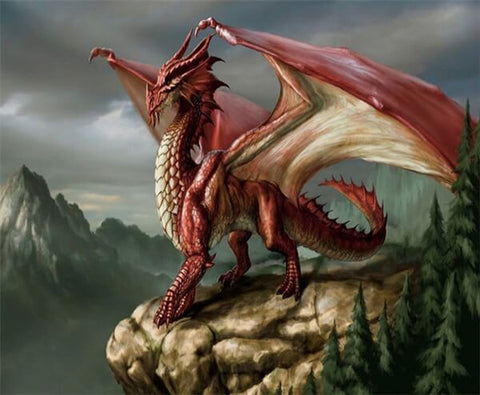 Legend Red Dragon