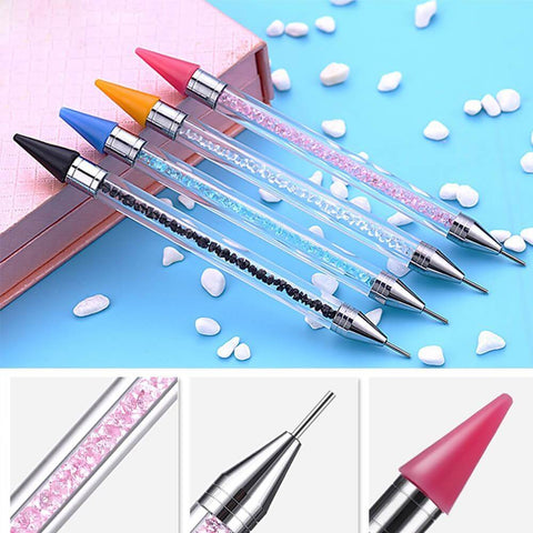 Dual-Sided Premium Wax Diamond Pen