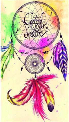 Catch Your Dream Dreamcatcher DIY - TryPaint