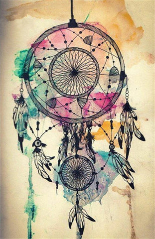 DIY Dreamcatcher Kit Painting - TryPaint