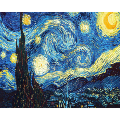 Van Gogh Starry Night - TryPaint