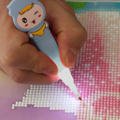 Light Diamond Painting Pen