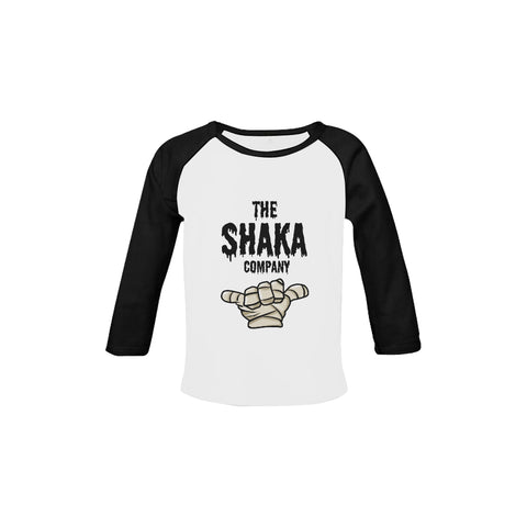 MUMMY SHAKA Organic Raglan Long Sleeve