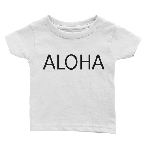 ALOHA Baby T-Shirt - The Shaka Company