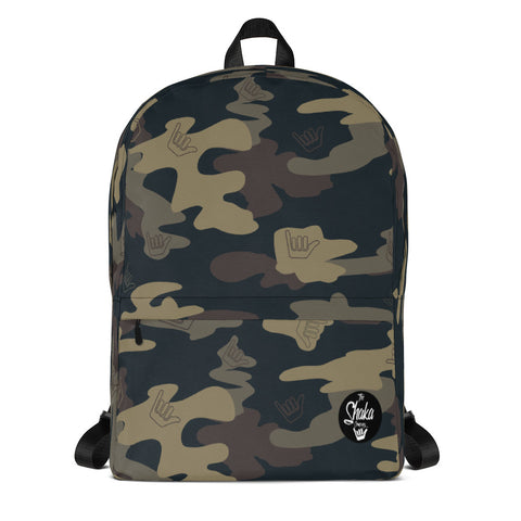 SHAKA CAMO BACKPACK - The Shaka Company