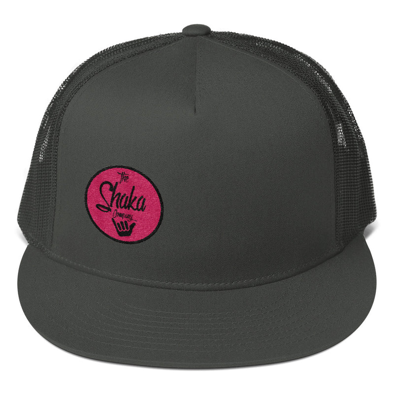 Flamingo Mesh Back Snapback - The Shaka Company