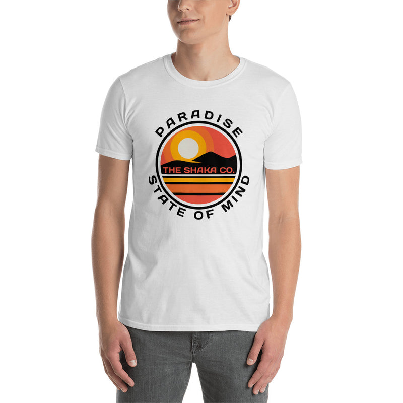 Paradise State of Mind Short-Sleeve Unisex T-Shirt - The Shaka Company