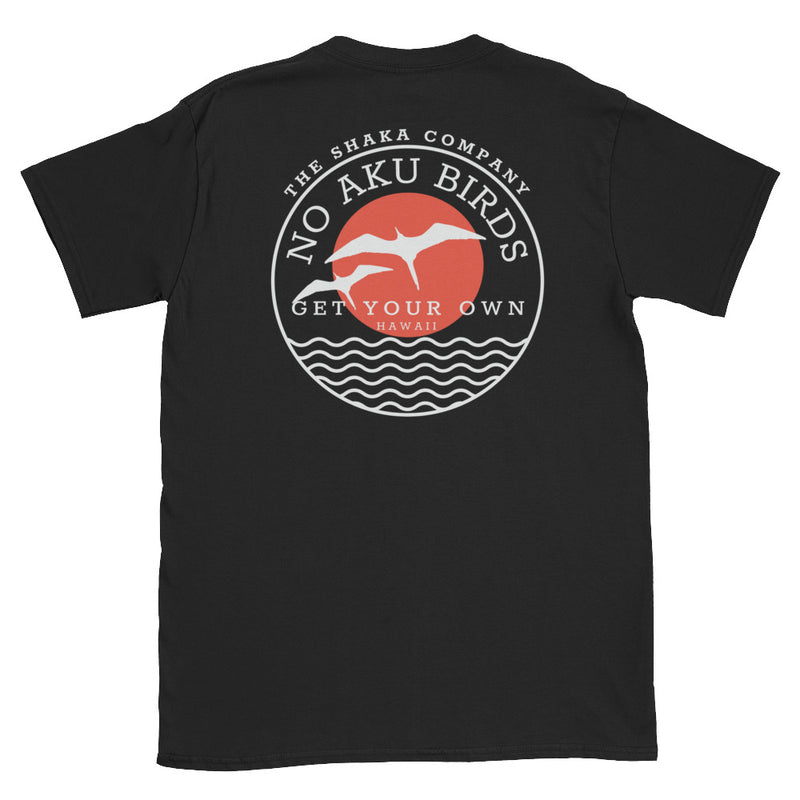No Aku Birds Short-Sleeve Unisex T-Shirt - The Shaka Company