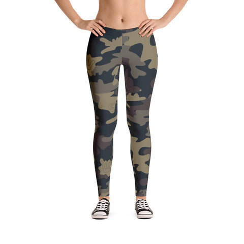 CAMO SHAKA Leggings - The Shaka Company
