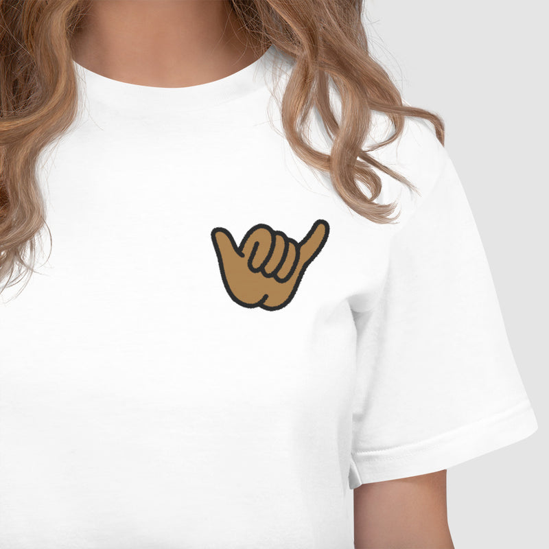 SHAKA VIBES Embroidered T-Shirt - The Shaka Company