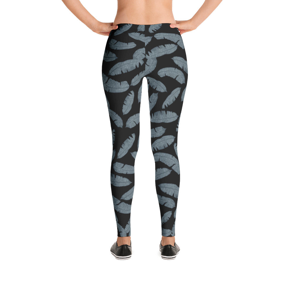 LEAF ME ALONE Leggings - The Shaka Company